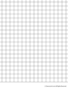 printable 1 inch grid paper