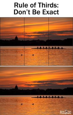 ❧ The Rule of Thirds - don't be exact | Boost Your Photography