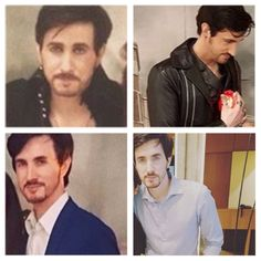 Another collage of Colin O Donoghue's look alike