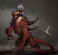Beacon - Draconian Warmaiden by JoshCorpuz85 on DeviantArt