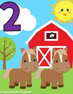 Educational Activities For Kids, English Activities, Farm Animal Crafts, Farm Animals, Classroom Calendar, Classroom Decor, Math Numbers, Baby Learning, School Projects