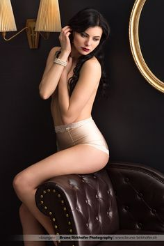 lounge III by Bruno Birkhofer on Photo Grouping, Photography Women, Erotic, Two Piece Skirt Set, Beautiful Women, Wonder Woman, Lingerie, Superhero, Portrait