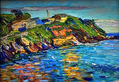 """bofransson: """" Wassily Kandinsky - Rapallo - The Bay, 1906 """""""