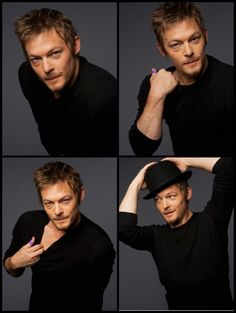 Norman Reedus. LESS THAN 24 HOURS. I WILL TOUCH THIS MAN!!!!