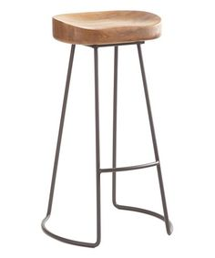 Another great find on #zulily! Gray Tall Painted Smart & Sleek Stool #zulilyfinds