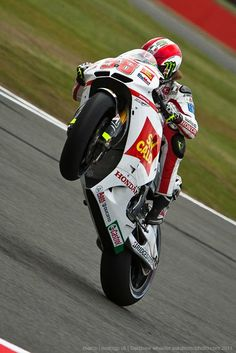 Wheelie - Marco Simoncelli | Photo by Andrew Wheeler (AutoMotoPhoto)