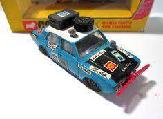 Corgi Toys 302 Hillman Hunter Whizzwheels 1969-72 BOX #Corgi #HillmanChrysler