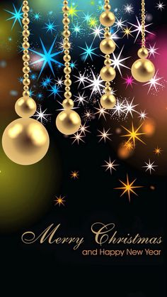 iphone wallpaper merry christmas happy new year tjn