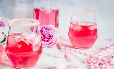 In need of some delicious rosé cocktails for your wedding day? If you love a rosé as much as we do, you will love these gorgeous rosé cocktails (and so will your guests!): Frosé Frozen rosé is the most delicious drink for… Read more › Gin, Frozen Rose, Panna Cotta, Grey Goose Vodka, Non Alcoholic Cocktails, Rose Cocktail, Pink Drinks, Whole 30 Recipes, Kombucha