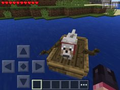 One dog and his boat Minecraft Dogs, Boat, Outdoor Decor, Home Decor, Dinghy, Decoration Home, Room Decor, Boats, Home Interior Design