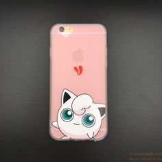 High quality Pokemon silicone phone case for iPhone OEM production gift