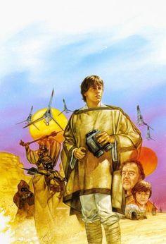 Star Wars - Luke Skywalker by Dave Dorman