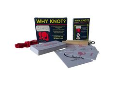 Amazon.com: Compact Travel Edition Why Knot? Fisherman's and Boater's Combo Knot Tying Kit/Game: Toys & Games