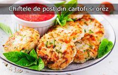 Chiftele de post din cartofi și orez, la cuptor – LaTAIFAS Baby Food Recipes, Meat, Chicken, Recipes For Baby Food, Cubs