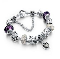 Complete La Mia Cara Jewelry - Unique and Assertive This very well thought bracelet has a great look and it can be used both at day and night. Stop worrying about filling a bracelet, this charms are s