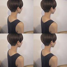 お客様✂︎✂︎short mash マッシュとショートのちょうど中間 . . 頭の形がキレイになる#3Dボブ #people_aoyama #people_isobe #美容室#ヘア#ヘアスタイル#ヘアサロン#ボブ#bob#shortbob#shorthair #hair#hairstyle#haircut#ショートボブ#ショートヘア#ショートカット#マッシュボブ#マッシュショート風