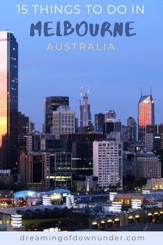 Find out the best things to do in Melbourne Australia, including Melbourne city attractions, cafes, street art and St Kilda Beach. #australia #melbourne #traveldestinations Melbourne Attractions, Stuff To Do, Things To Do, Melbourne Australia, Cosmopolitan, Seattle Skyline, Day Trips, San Francisco Skyline, Beaches