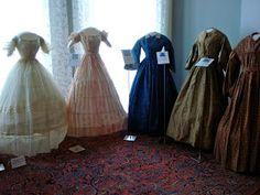 Museum civil war dresses