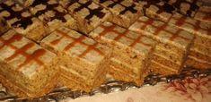 Érdekel a receptje? Hungarian Desserts, Cake Bars, Cake Cookies, Fondant, Waffles, Sweets, Bread, Baking, Breakfast
