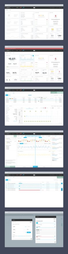 Dashboard Nutanix UI Design after Iterations on Behance