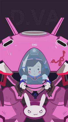 ArtStation - dVA and Tracer Bandwagon, Janice Chu