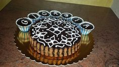 Torta speziata e curd di arancia