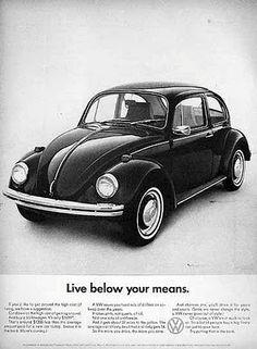Original Volkswagen Beetle Ads Trough History ~ www.popgive.com