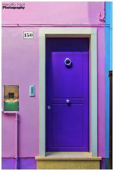 Burano, Italy.............purple..........