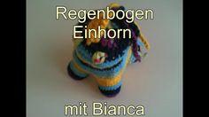 Einhorn häkeln Teil 2 Youtube, Baby, Amigurumi, Tutorials, Crochet Unicorn, Rainbow Unicorn, Newborn Babies, Infant