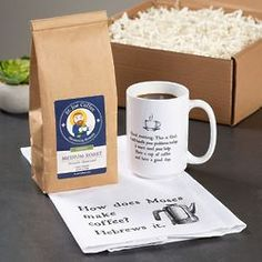Coffee Humor Gift Box - Large This gift box will bring a smile to the face of any coffee lover. Joe Coffee, Coffee Cups, Coffee Jokes, Catholic Company, Religious Gifts, Cream And Sugar, Coffee Roasting, Morning Coffee, Funny Gifts