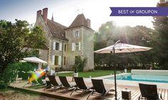 Près de Magny-Cours : 1 à 3 nuits avec petit déjeuner, dîner optionnel au Château de Sallay 4* pour 2 personnes