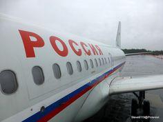 Rossiya, Russian Airlines. Airbus A319-100 @ Saint Petersburg