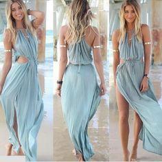 Irresistible Bohemian Beach Maxi Dress