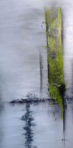 abstract painting TOURBILLON 6:56