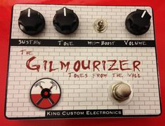 Gilmourizer - Guitar Effect Pedal (Muff Style)