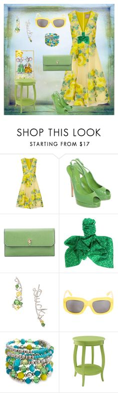 """""""Church Mice 🐭"""" by klm62 ❤ liked on Polyvore featuring Lela Rose, Casadei, Valextra, Bottega Veneta, Surface To Air, Erica Lyons and Powell"""