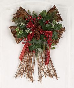 Another great find on #zulily! Highland Holiday Bow #zulilyfinds