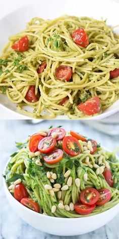 Easy Pasta Recipes, Easy Healthy Recipes, Lunch Recipes, Easy Dinner Recipes, Vegetarian Recipes, Easy Meals, Cooking Recipes, Health Recipes, Easy Avocado Recipes