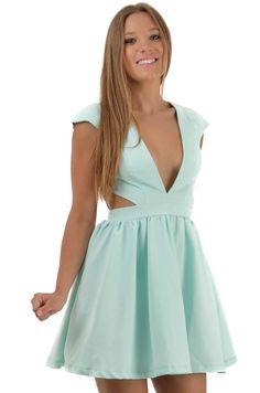 Clea Dress www.peekaboofashion.com