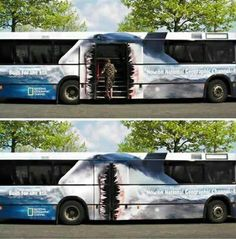 Now here´s a good design on a bus XD