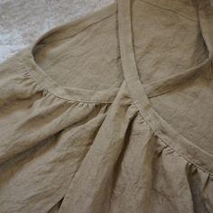 クロスエプロンOP Vintage Apron Pattern, Aprons Vintage, One Piece Dress, Two Piece Skirt Set, Not Perfect Linen, Linen Apron, Casual Outfits, Fashion Outfits, Linen Shorts