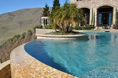 One of the local pools we've worked on here in Northern California's Bay Area Swimming Pool Repair, Swimming Pools, Aqua Pools, Northern California, Bay Area, The Locals, Gallery, Outdoor Decor, Swiming Pool