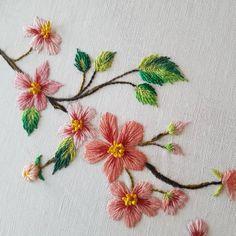 벚꽃자수 : 네이버 블로그