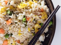 """Fried"" Rice In The Slow Cooker 