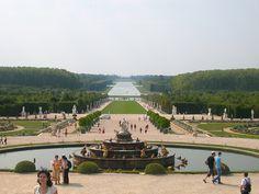 Jardines de Versalles!
