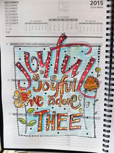 Quotes to Doodle journal page Martha Lever