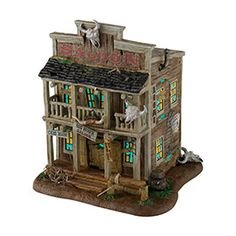 """Department 56: COLLECTING - """"Big Horn Saloon"""" - New Introductions"""