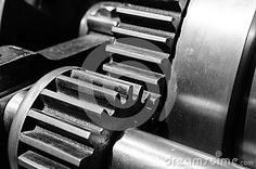 Gears Closeup, Black And White - Download From Over 24 Million High Quality Stock Photos, Images, Vectors. Sign up for FREE today. Image: 42656772