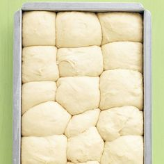 Even beginner-level bakers will have no trouble making these fluffy rolls; the dough can be prepped, put in the pan, and chilled up to a day ahead.