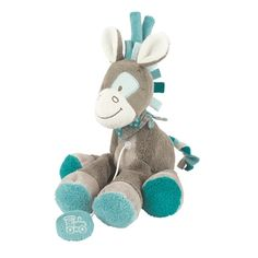 Picture of (Nattou) Mini Soft Musical Gaston The Horse Baby Cot Toy - Gaston & Cyril